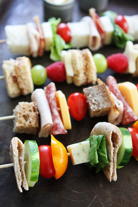 Special Sandwiches on Stick